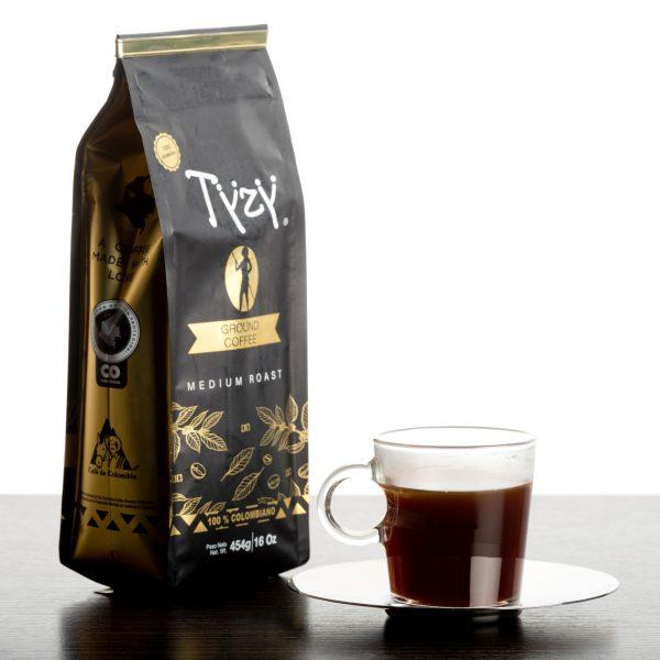 Café Tyzy 454 Gr 6 Oz Molido